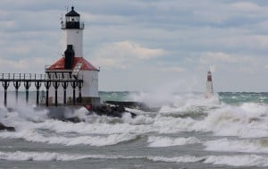 Officials brace for high wind, waves