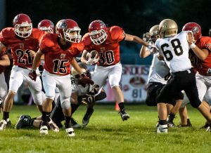 Kankakee Valley handles Griffith for third straight win