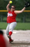 Carrie Combs started the regional game