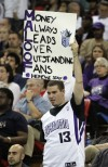 NBA's Kings staying put for at least 1 more season