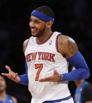 AL HAMNIK: Melo's 10-day shopping spree nothing more than ego trip