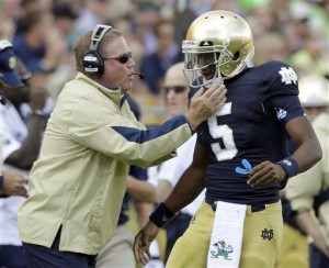 What will Notre Dame do without QB Everett Golson?