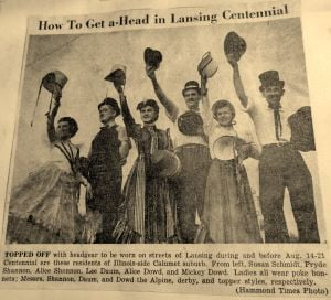 Remembering the 1954 Lansing Centennial