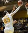 Valparaiso's Matt Kenney drives for layup