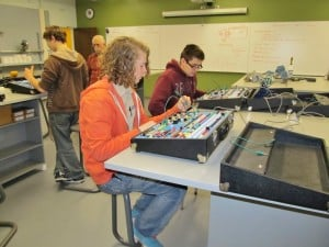 Scouts earn Electricity Merit Badge at IBEW 697 Training Center