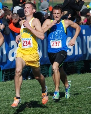Eller helping to put cross country on the map in Lowell