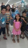 Kids treated to shopping spree