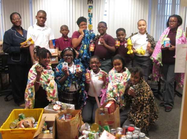 Student Council celebrates by helping others