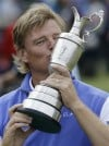 Ernie Els wins stunning Open when Scott collapses  