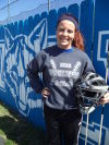 Boone Grove's Kirsten Spangenberg is a four-year starter at catcher for the Wolves.