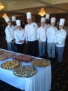 Chef Terry Zych of Ivy Tech and His Students at the 12th Annual Dine with the Chefs 2013 Gala