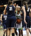 UConn beats Notre Dame 83-65 to reach NCAA final