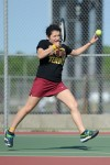 Chesterton No. 2 singles player Meg Modesto