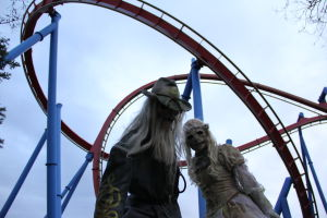 Amusement parks transform for fall fun