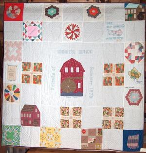 Quilts and vintage truck on display at Renewing the Region