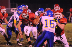 Kankakee Valley runs by Highland for NCC win