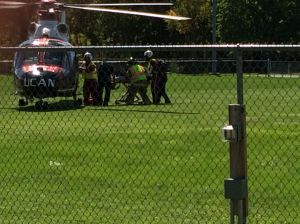 Two injured in South Haven accident, one airlifted