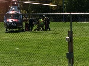 Three injured in South Haven accident, child airlifted