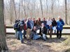 Lansing Scouts hike Indiana Dunes State Park