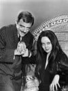 Gomez and Morticia from ABC TV's &quot;The Addams Family&quot;