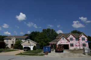 Housing boom in established subdivisions
