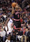 Rose scores 35 as Bulls hold off 76ers