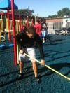 Calumet gridders rehab Head Start playground