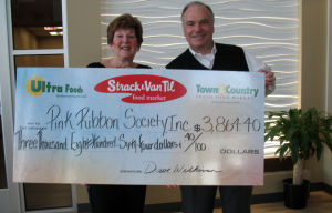 Pink Ribbon Society benefits from event by Stracks and Dietz & Watson Delicatessen