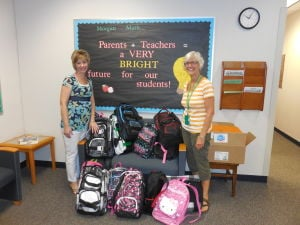 Kankakee Valley REMC's backpack drive exceeds expectations