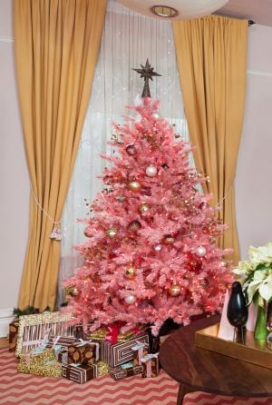 At Home: Two-Tree Trend: When You Can't Decorate Just One