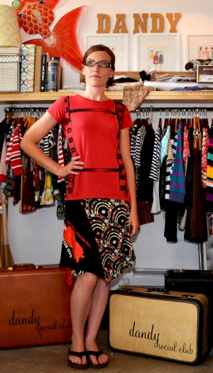 Favorite old T-shirts find new life as skirts
