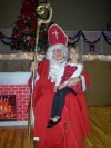 St. Nick stops for a visit