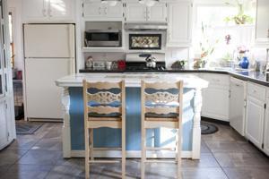 Repurposed materials fill this Italian-inspired Michigan City home