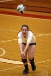 Marian Catholic/Munster girls volleyball