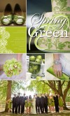 Inspiration Board Spring Green