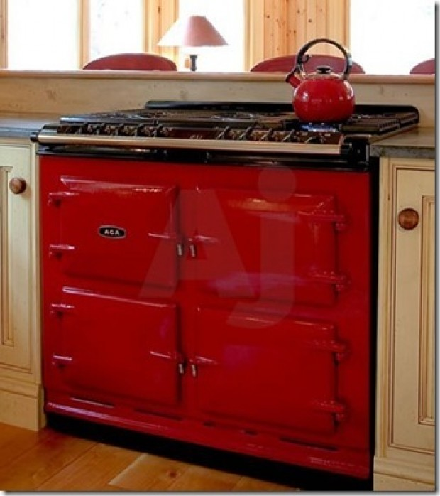 Vintage Looking Electric Stoves ~ Offbeat new stoves today get a vintage look with aga line