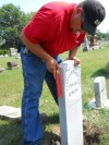 Headstone of Gettysburg survivor replaced on anniversary of battle