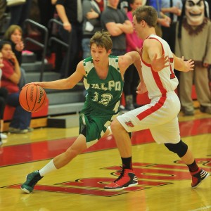 Vikings boys beat Portage at the line
