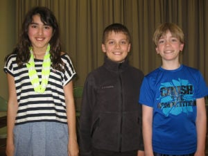 Liberty school spelling winners advance