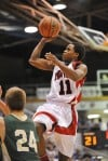 Park Tudor's Kevin Ferrell hangs in the air