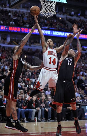 Bulls clamp down on NBA champion Heat