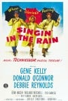 """Singin' in the Rain"" MGM Musical Poster"