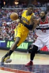 Pacers take series lead with blowout win