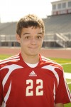 Homewood-Flossmoor soccer player Mark Spencer