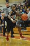 East Chicago junior guard Denita Brown