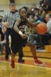 East Chicago junior guard Denita Brown
