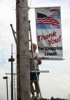 Lowell installs new promotional banners on commercial ave.
