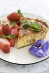 Demystifying a Mother's Day ham and cheese quiche