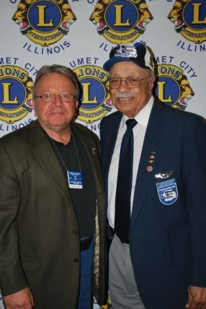 Cal City Lions donate to Tuskegee Airmen