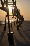 LAST LOOK: Stairway at Sunset in Union Pier